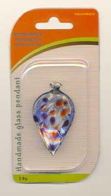120424218 Handgemaakte glazen hanger