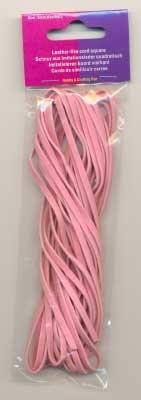 120050007 Leder like cord Zacht roze