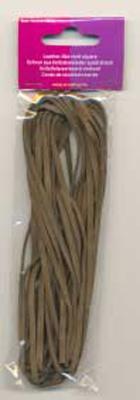 120050009 Leder like cord Donkerbruin