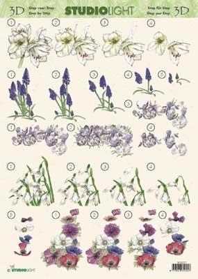 3DSLMIN037 - Bloemen