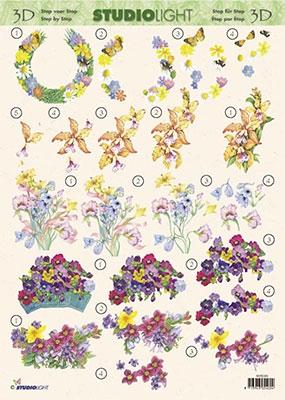 3DSLMIR069 - Bloemen