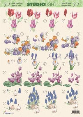 3DSLMIN075 - Voorjaarsbloemen