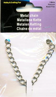 12029-1001 Ketting  1 mtr x 5,5 mm