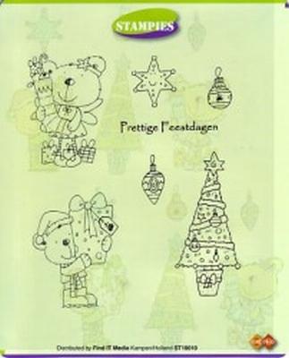 ST10010 Stampies Stempels Kerst