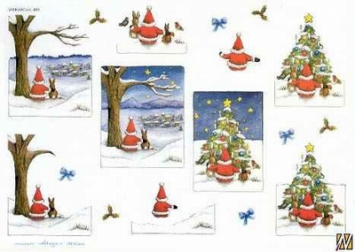 Wekabo 486 Kerstman/kerstboom