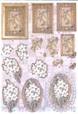 Z60130616 Joy Glitterdecoupage