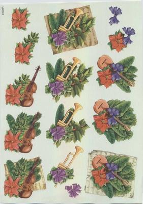 VB0083  Kerst Trompet/Viool