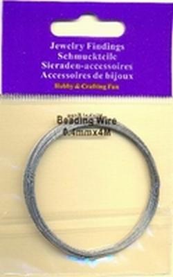10829-4001 Gecoated staaldraad zilver