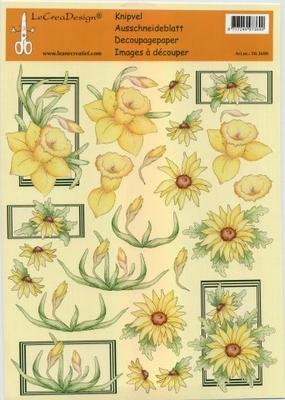 503690 Knipvel  Leane Creatief bloemen