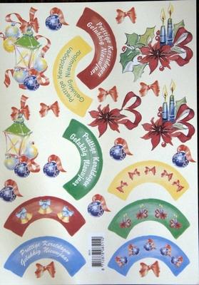 VB8511 Draaikaarten Gelukkig nieuwjaar
