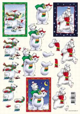 VB8632 IJsbeer Kerst