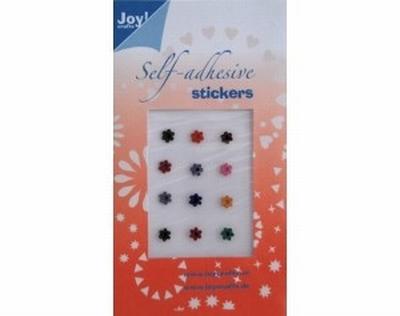 60220021 Joy Adh.Stickers Diverse kleuren
