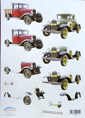 VB8683 Oude Auto`s