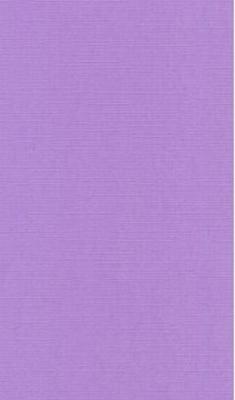 Vierkante opleg kaart 12,5 X 12,5 cm Nr 17l  Lila per 4