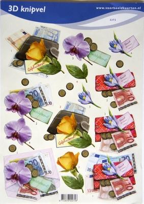 VB2272 Bloemen Geld