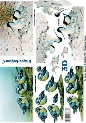 4169455 LeSuh 3D Vogels
