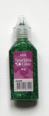 Z-Glitterlijm 20 Gr Groen