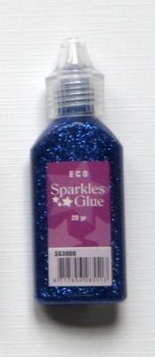 Z-Glitterlijm 20 Gr Blauw