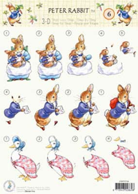 STAPPOT06 Peter Rabbit Studio Light