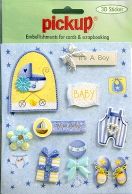 PU3096 Embellishments for Cards and Scrapbooking