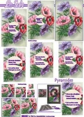 630015 Le Suh Pyramids bloemen