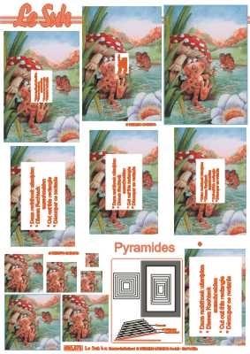 630073 Le Suh Pyramids paddestoel