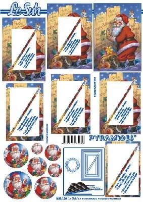 630126 Le Suh Pyramids kerstman