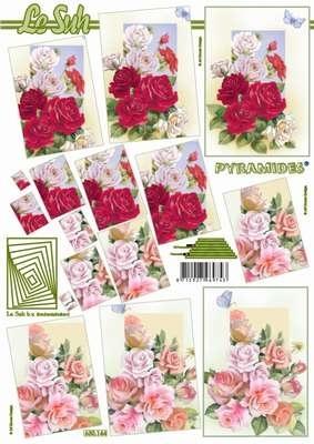 630144 Le Suh Pyramids bloemen