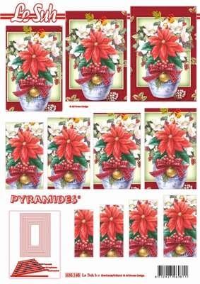 630145 Le Suh Pyramids bloemen