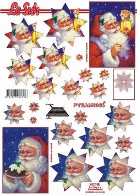 630158 Le Suh Pyramids kerstman