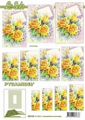 630164 Le Suh Pyramids bloemen