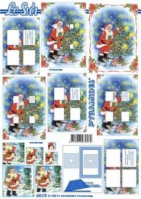 630173 Le Suh Pyramids kerstman