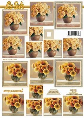 630233 Le Suh Pyramids bloem