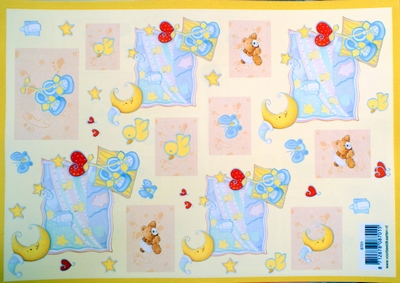 VB8701 A4 knipvel baby