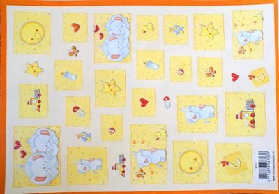 VB8703 A4 knipvel baby