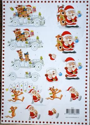 VB8655 A4 knipvel kerst