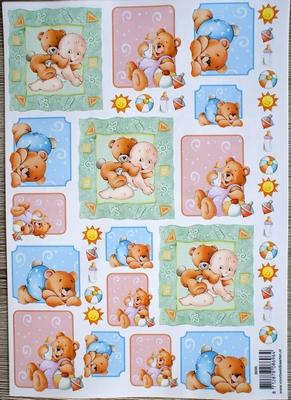 VB8696 A4 knipvel baby