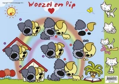WP-10001 Woezel en Pip Strand