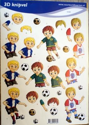 VB2164 A4 knipvel Voetbal