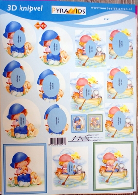 VB2247 A4 knipvel Pyramids kinderen