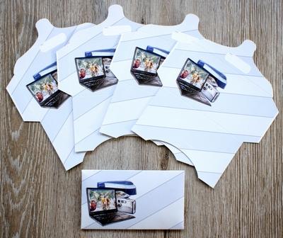 5 cadeau enveloppen Nr.4