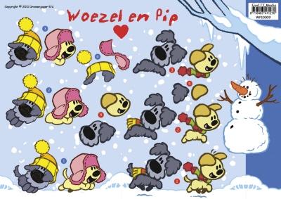 WP-10009 Woezel en Pip Winter