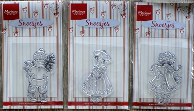 3 Clear stamps Marianne Desig Snoesjes