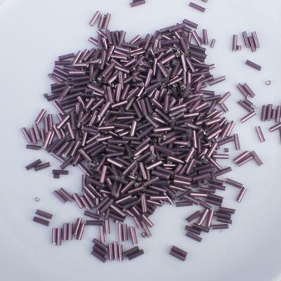 ST6-04 Paars staafkralen 6 mm zakje 25 gram
