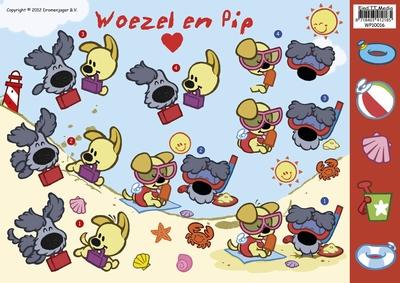 WP-10016 Woezel en Pip Vacantie
