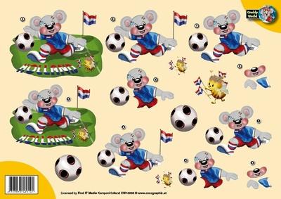 CW10006 Creddy world Voetballen
