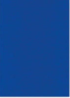 Vierkant karton 13,5 X 27 cm  Nr 39  Saffierblauw per 5 vel