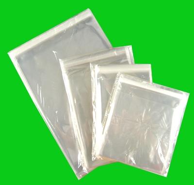100 Zakjes 125 x 180 met klep 30 mm en plakstrip