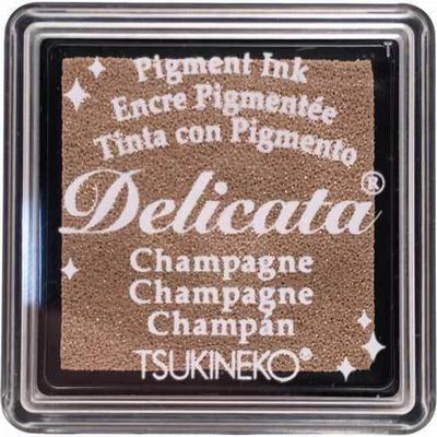 DE-SML-196 Delicata small inkpads Champagne