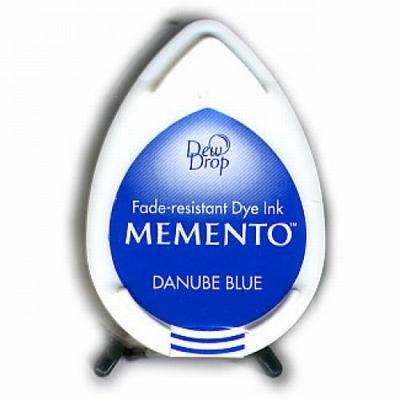 MD600 Memento Inkpad Dewdrops Dabube blue